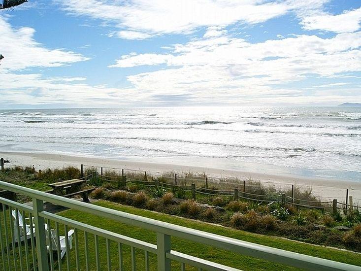 Beach Galore - Waihi Beach Holiday Home - Beachfront Views