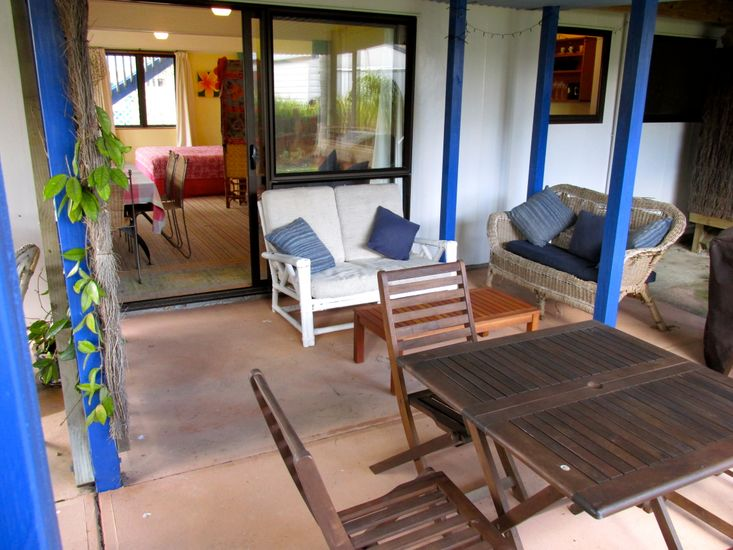 Outdoor Living - Downstairs