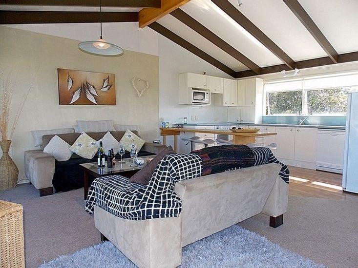 Kitchen to Lounge - Upstairs