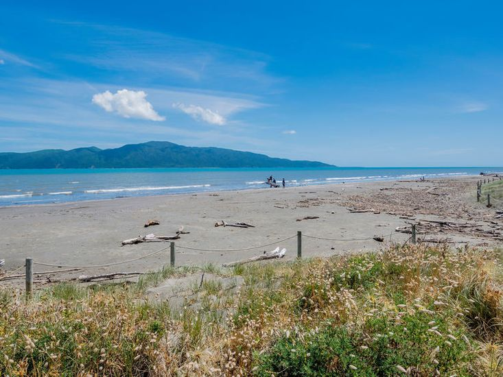 Paraparaumu Beach (photo not taken from the property)