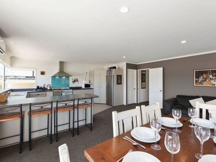 Dining, Kitchen and Living