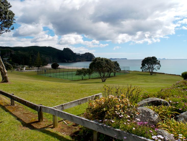 Beach and Tennis Courts - short walk away from property