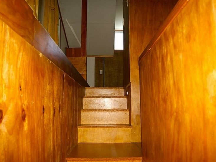 Stairs to Sleeping Area