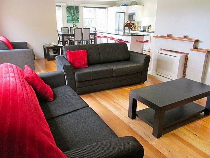 Lounge to Dining and Kitchen
