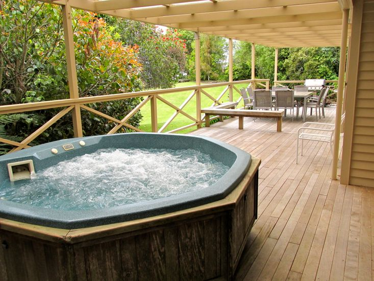 rotorua accommodation with private spa