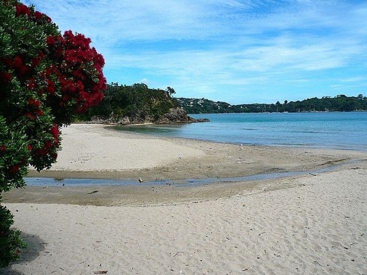 Little Oneroa Beach - 2 minute walk from property