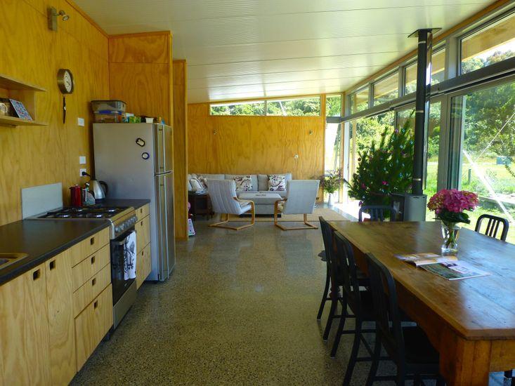 Kitchen, Dining, Lounge