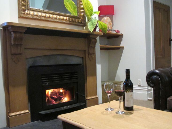 Winter Lounge Fireplace