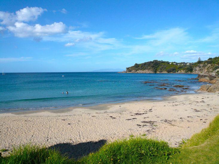Oneroa Beach - walking distance from property