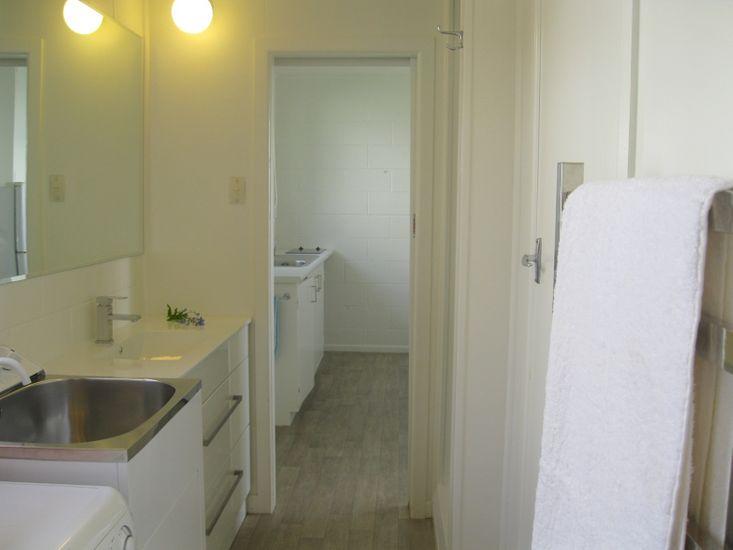 Laundry & Bathroom