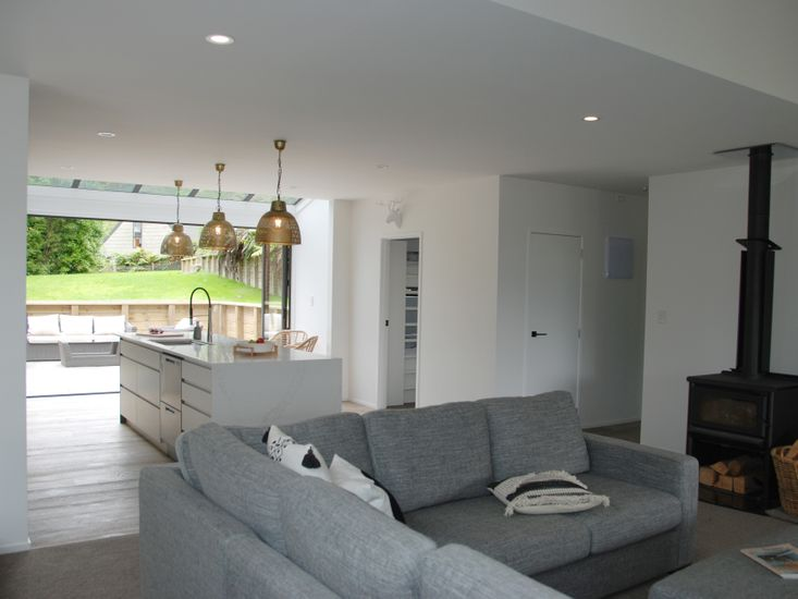 Lounge Room to Kitchen