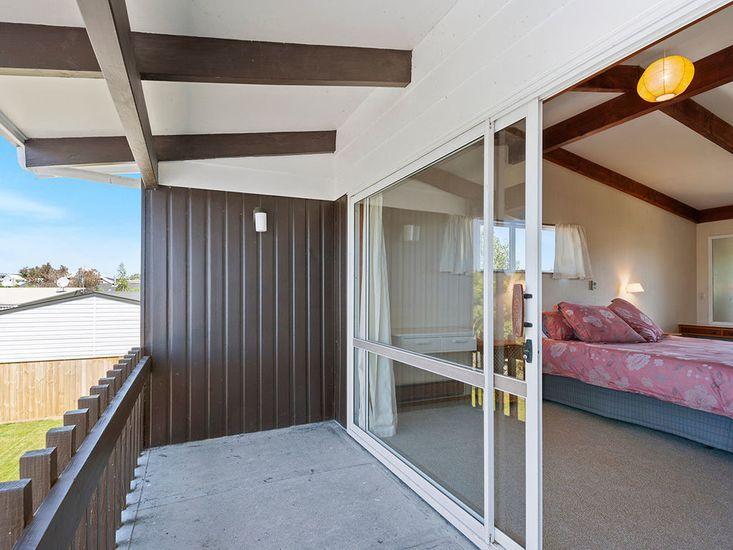 Bedroom 1 with Balcony