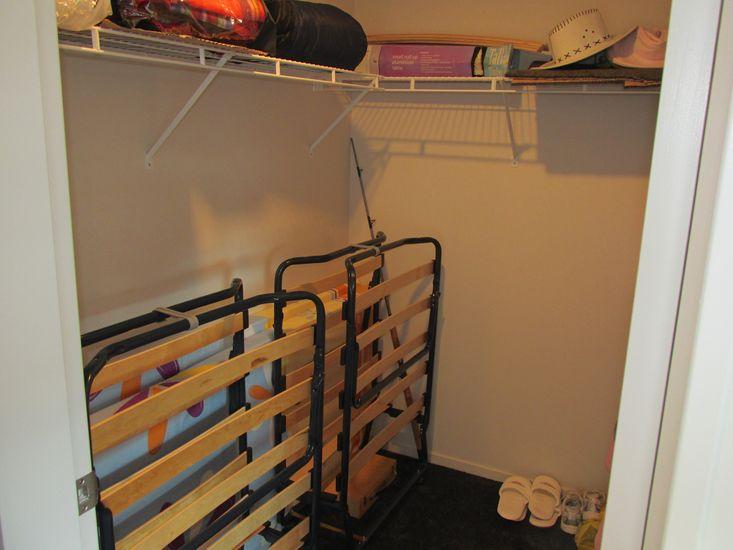 2 Fold Out Single Beds