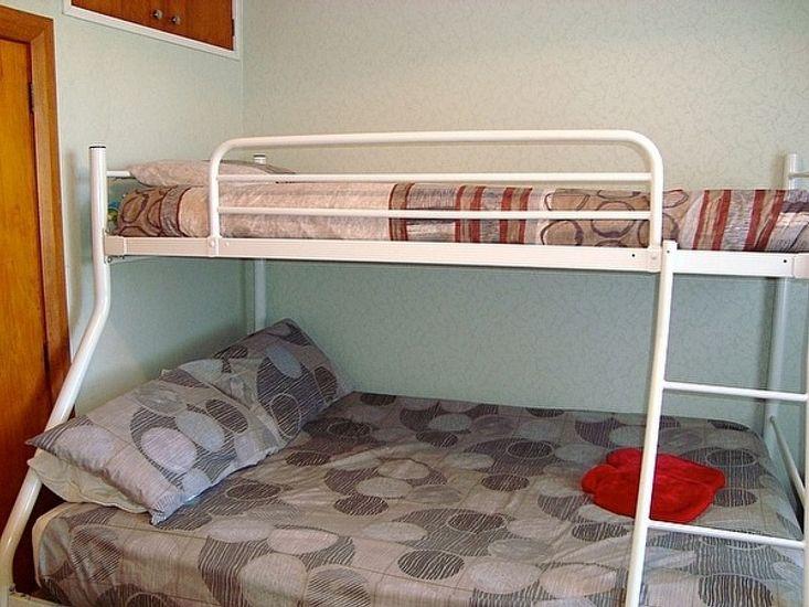 Bedroom 5 - a double bunk set