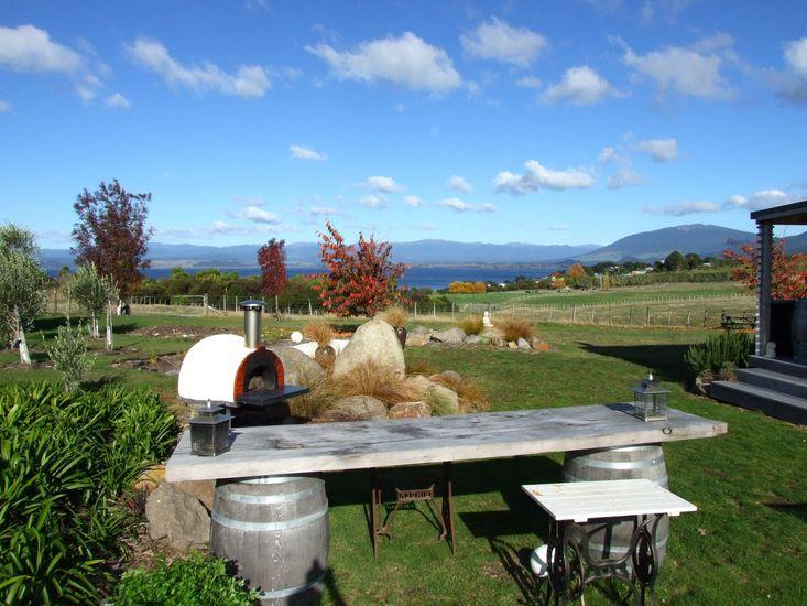 Tranqui Te Puke - Kuratau Holiday Home - Outdoor Living