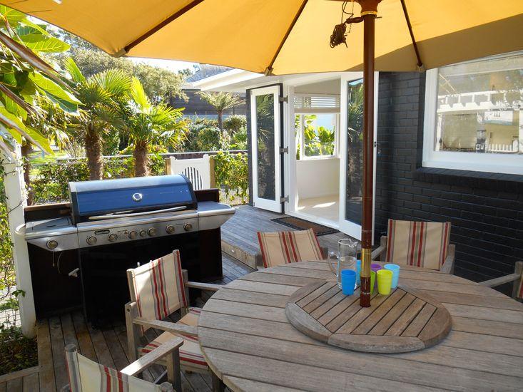 Ngarata Bach - Mt Maunganui Holiday Home - Outdoor Living
