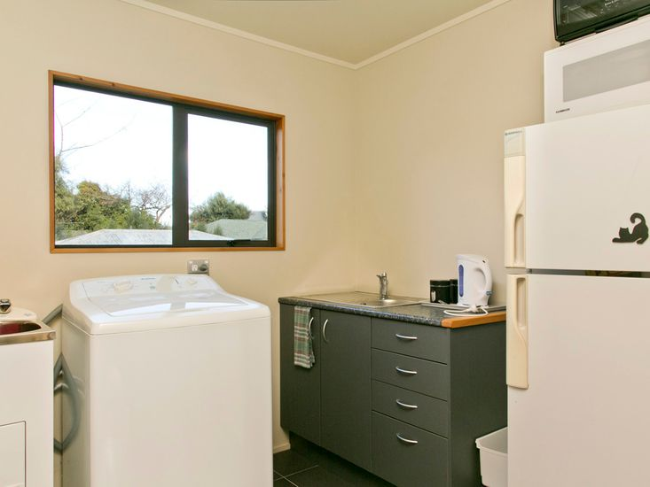 Kitchenette and Laundry - Downstairs