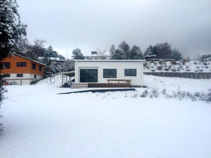 Willow Escape - Winter view