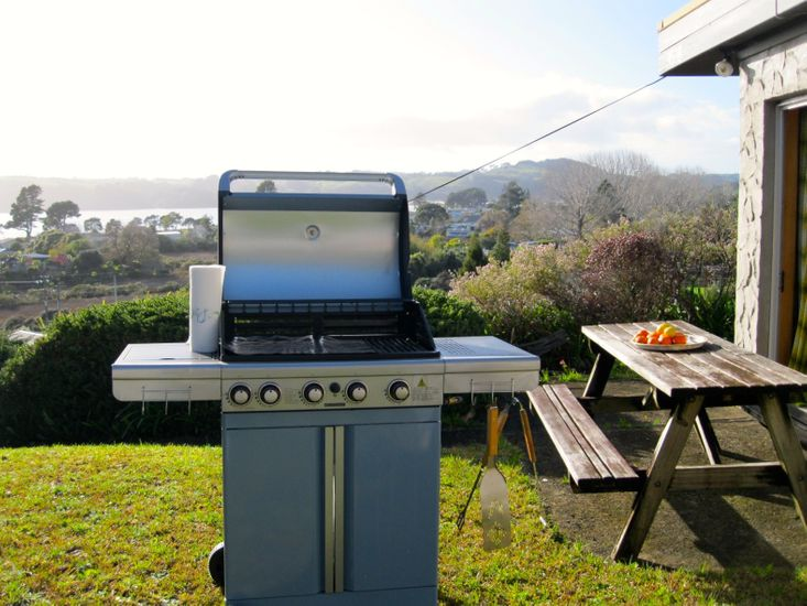 BBQ Area with Views