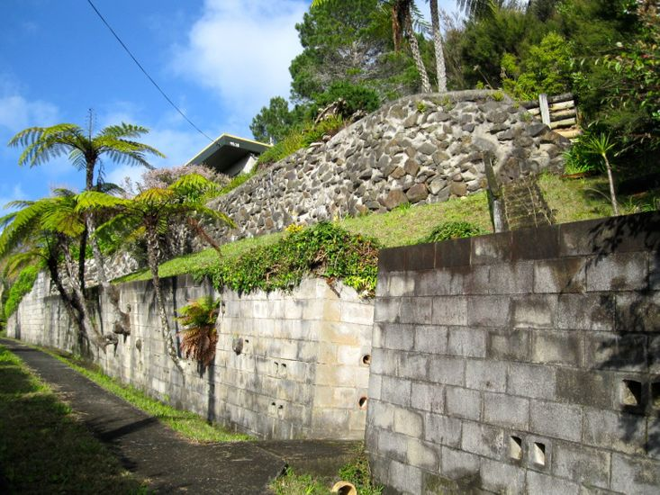 Driveway to Property