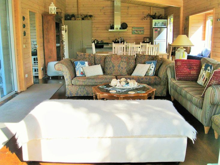 Lounge, Dining, Kitchen
