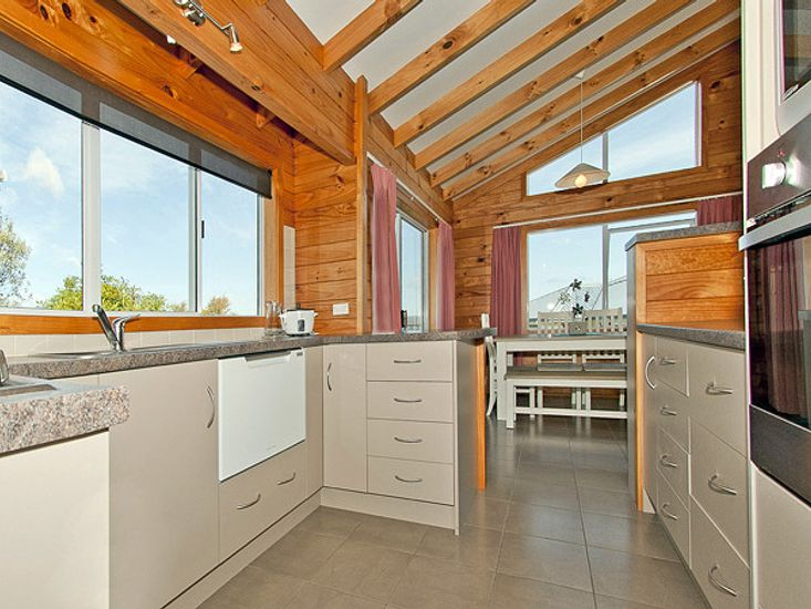 Kitchen and Dining - Upstairs