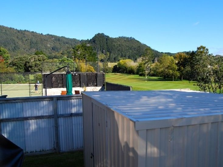 View to Tennis Court and Golf Course
