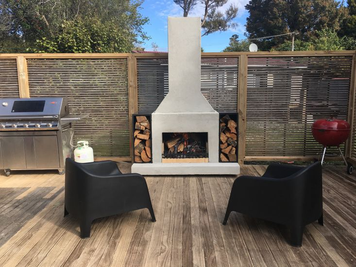 BBQ & Outdoor fireplace