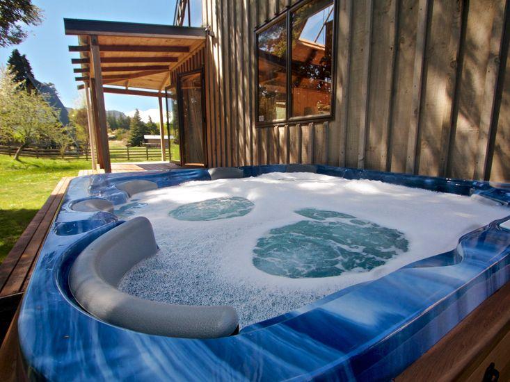 Ti Kouka Chalet - Ohakune Holiday Home - Spa Pool