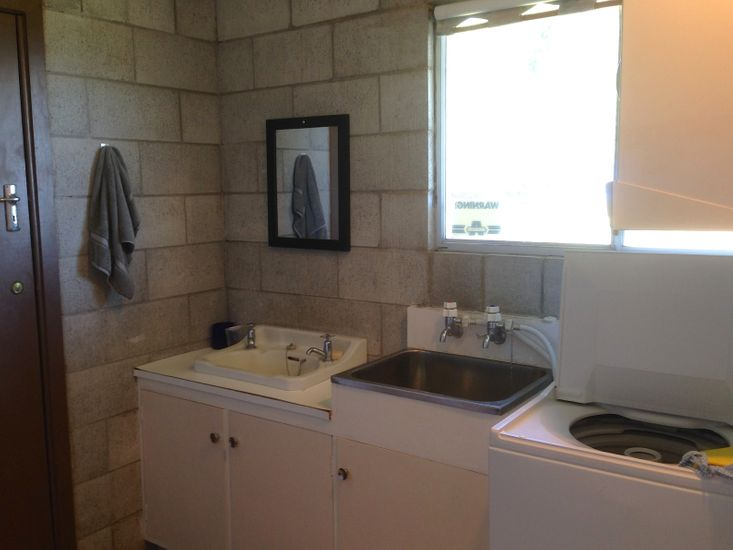 Bathroom and Laundry - Downstairs