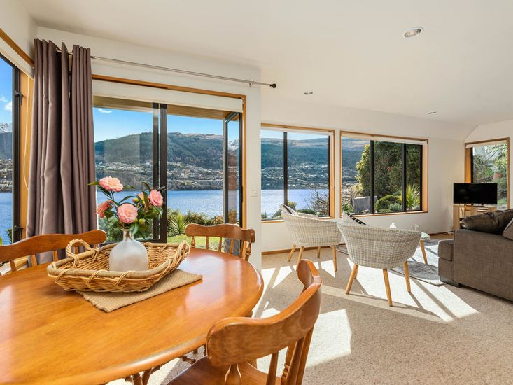 Dining, Living and Lake Views