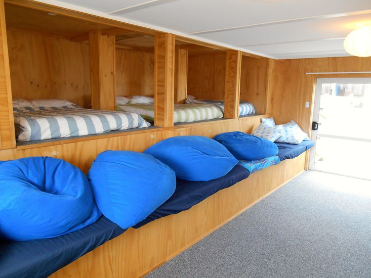 Bedroom 3 - Off Middle Level Lounge *Please note these are sponge mattresses*