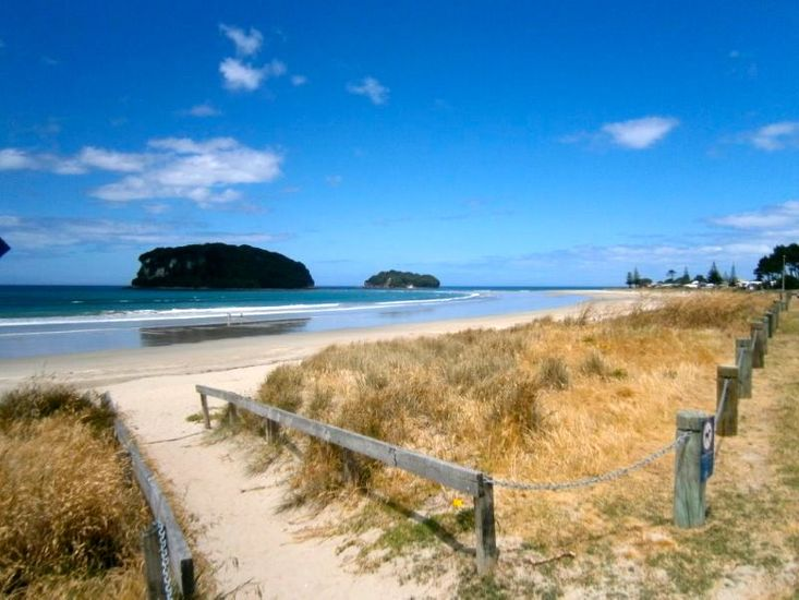 Beach Views - 3 minute walk from property