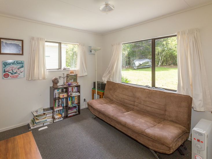 Futon in Living Area