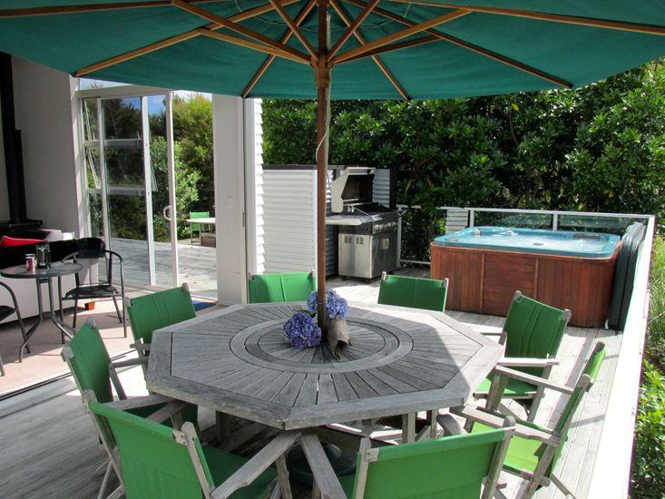 Connemara - Mangawhai Holiday Home - Outdoor Living