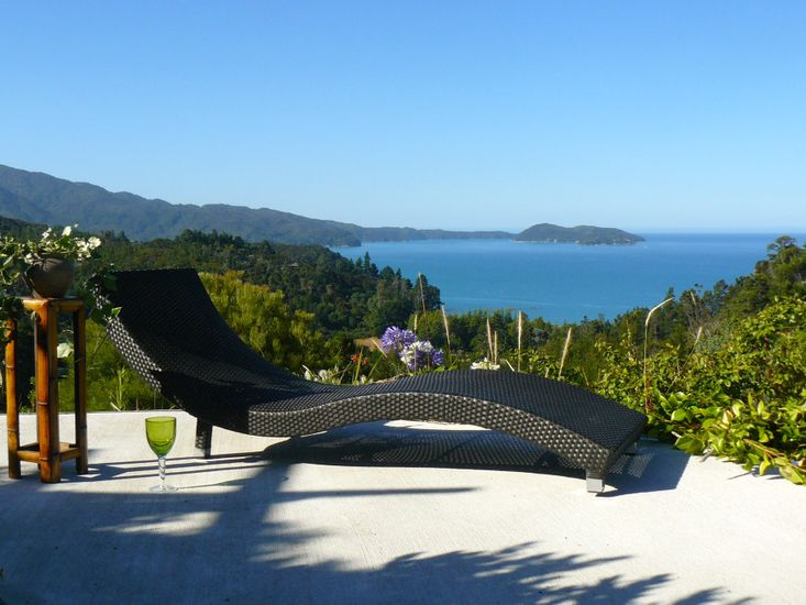 Views toward Abel Tasman National Park
