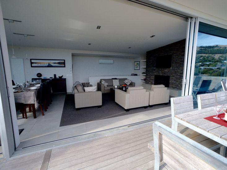 Indoor/Outdoor Living - Top Floor