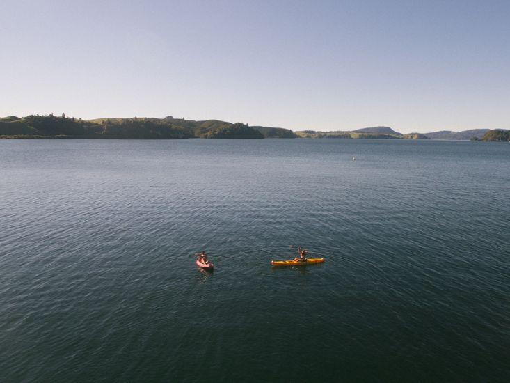 Kayaking at Bay Lodge