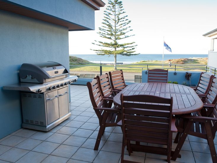 Outdoor Living with Views to The Beach