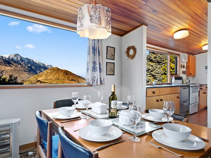 Mountain Views from Dining Area