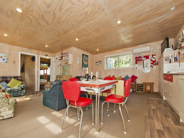 Living, Dining, Kitchen