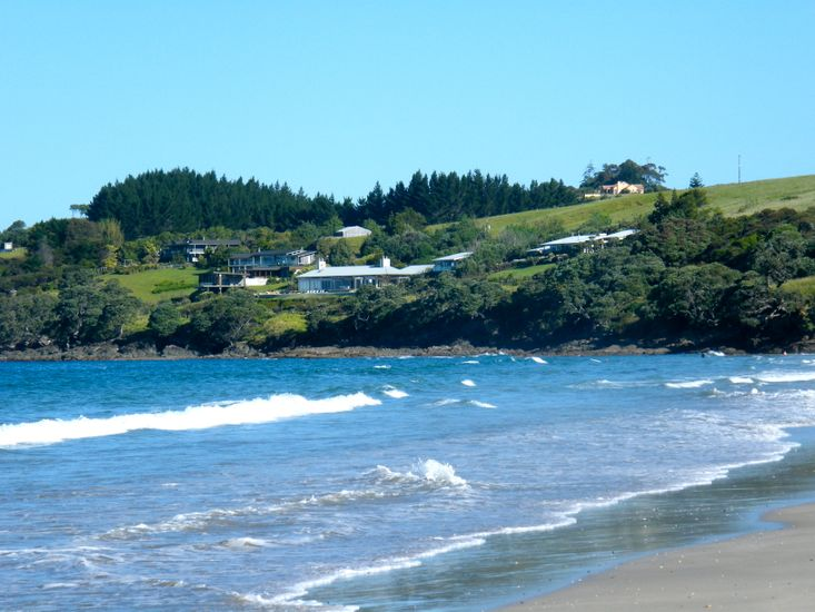 Waipu Cove Sea