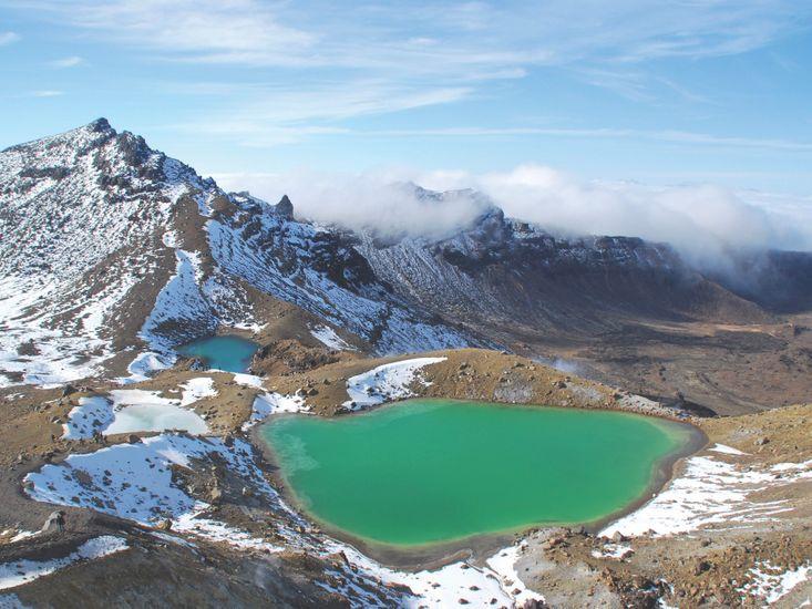 Emerald Lake Togariro