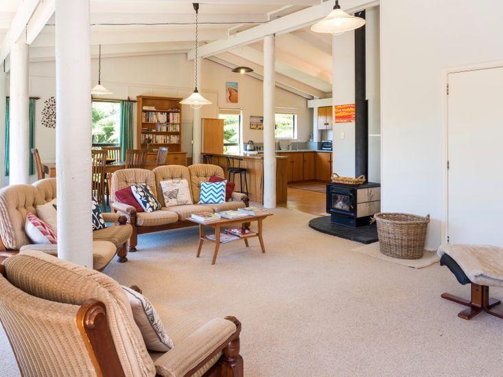 Lounge, Dining, Kitchen - Upstairs