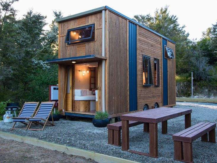 Stay in a tiny house NZ