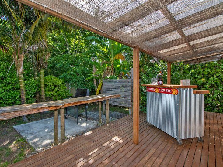 BBQ Area & Outdoor Shower