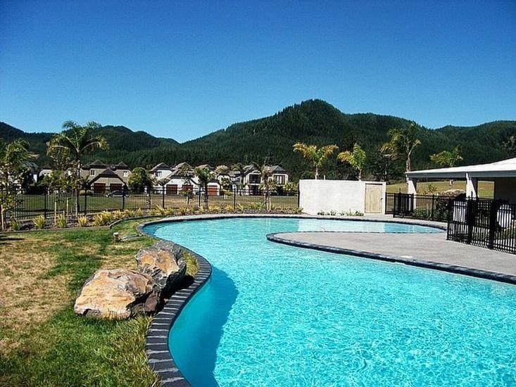 Pauanui Lakes - Pauanui Holiday Home - Lakes Resort Pool Facilities