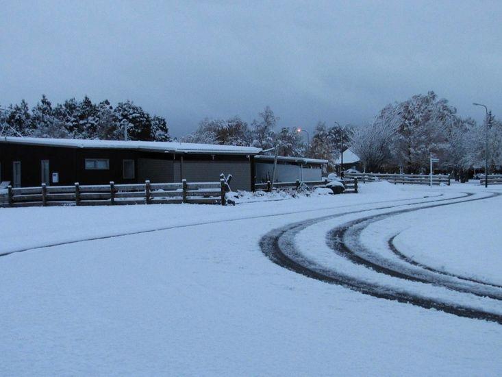 Snow season view