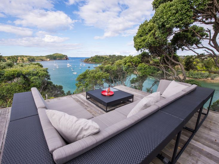 Moonlit Knights - Tutukaka Holiday House - Outdoor Living