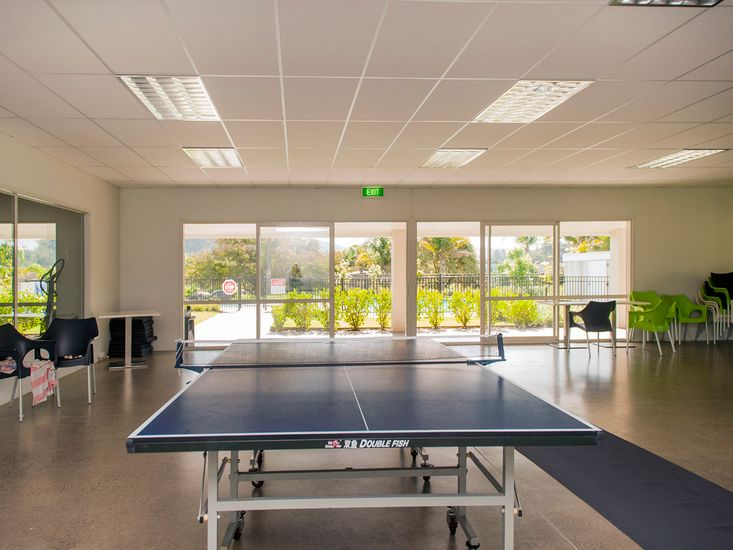 Gym and Table Tennis